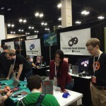 Texas Indie Devs at the Microsoft Booth