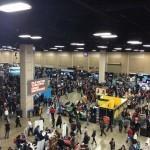 The show floor