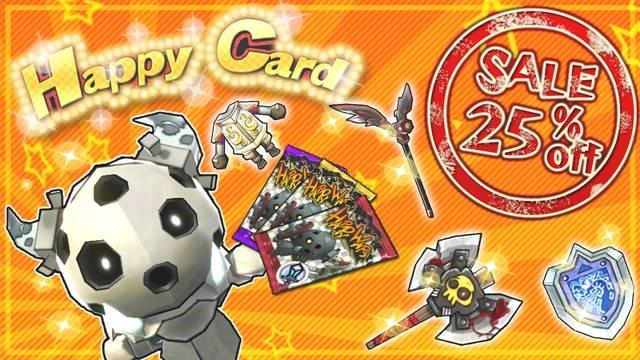 Happy Wars Happy Card bargain campaign