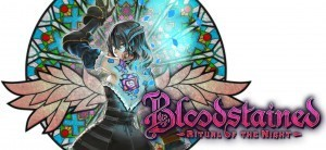 Bloodstained Logo layerd