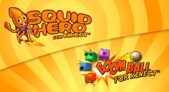 Now Available: Kinect Bundle: Squid Hero + Boom Ball