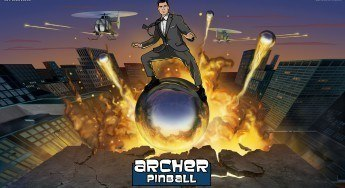 "Ride into the Danger Zone with Archer Pinball in the ""Balls of Glory"" Pinball Pack"