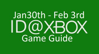 GameGuide: ID@Xbox game releases for week of 1/30 – 2/03