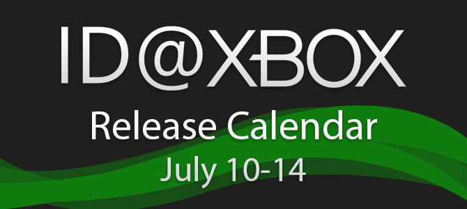 ID@Xbox Release Calendar for July 10-14!