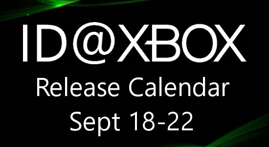 ID@Xbox Release Calendar for September 18-22