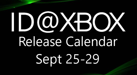 ID@Xbox Release Calendar for September 25-29