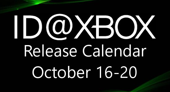 ID@Xbox Release Calendar for October 16-20