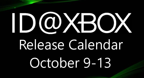 ID@Xbox Release Calendar for October 9-13